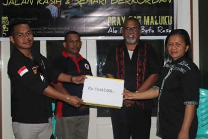 Aksi Pemuda Kei Untuk Korban Gempa Hasilkan Rp 10.645.000