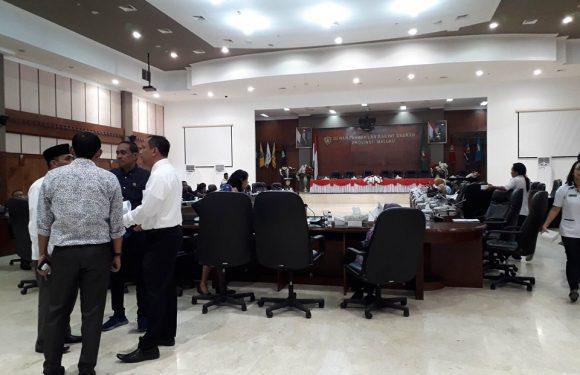 DPRD Maluku Resmi Punya Pimpinan Defenitif