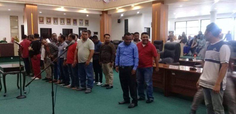 25 Calon Anggota DPRD Buru Siap Dilantik.