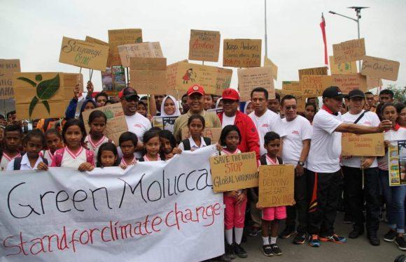 Gubernur Canangkan Gerakan 'Tabaos Maluku Bebas Sampah Plastik'