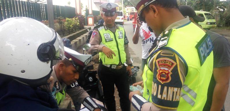 Seminggu Ops Patuh Siwalima, 121 Pelanggar Ditilang