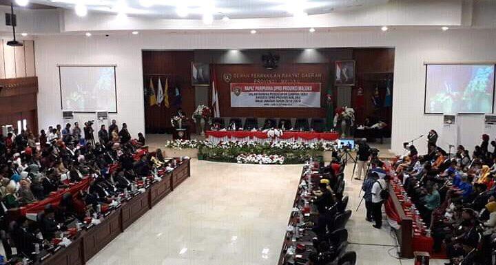 Pelantikan Pimpinan DPRD Maluku, Menunggu SK Mendagri