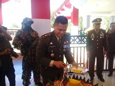 Rayakan HUT, TNI Selalu Dekat Dengan Rakyat