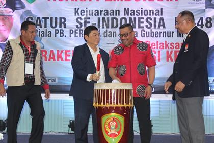 Respons Gubernur, Utut : Kejuaraan Internasional Catur Tahun Depan di Maluku