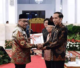 Gubernur Terima DIPA & TKDD 2020 di Istana Negara
