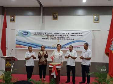 Gubernur Minta DPRD Ambon Bangun Sinergi Berkualitas