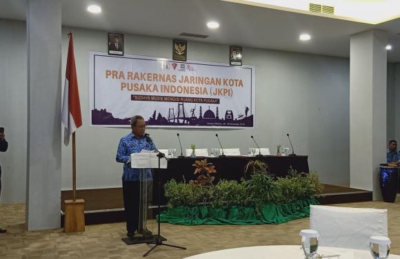 Dua Kepala Daerah Ikuti Pra Rakernas JKPI di Ambon