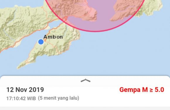 Gempa 5,1 SR Guncang Ambon, Warga Panik