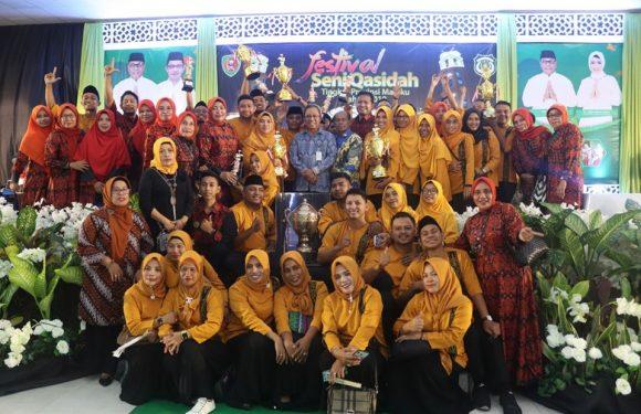 Diprotes SBT, Kota Ambon Sabet Juara Festival Qasidah Maluku