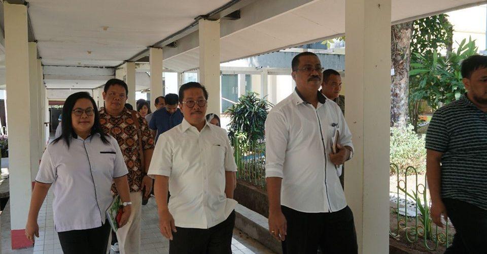 Dirkumhal BPJS Kesehatan Kunjungi RSUD Haulussy Ambon