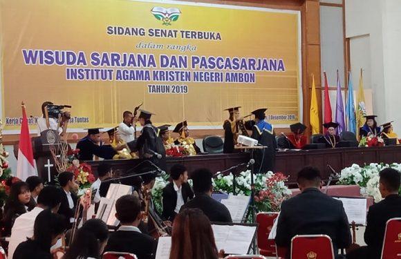 104 Lulusan IAKN Ambon Siap Mengabdi & Berkarya